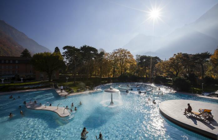Les plus beaux bains thermaux de Suisse: les bains de Lavey