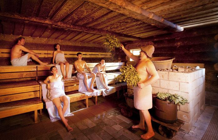 Les bains russes de Sole Uno - les plus beaux bains thermaux en Suisse