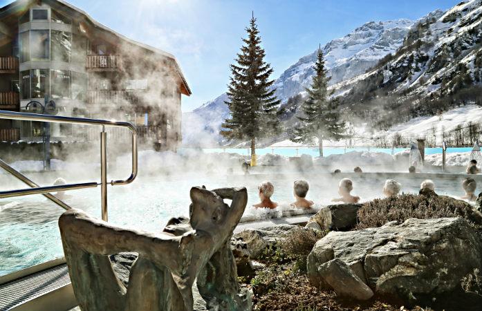 Les plus beaux bains thermaux de Suisse: Leukerbad